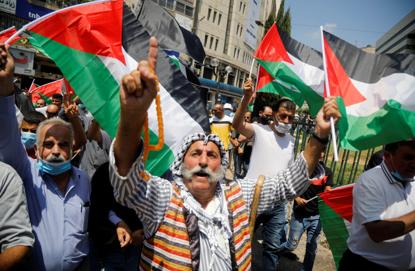 Palestine Protests Against Israel-Bahrain and Israel-UAE peace agreements