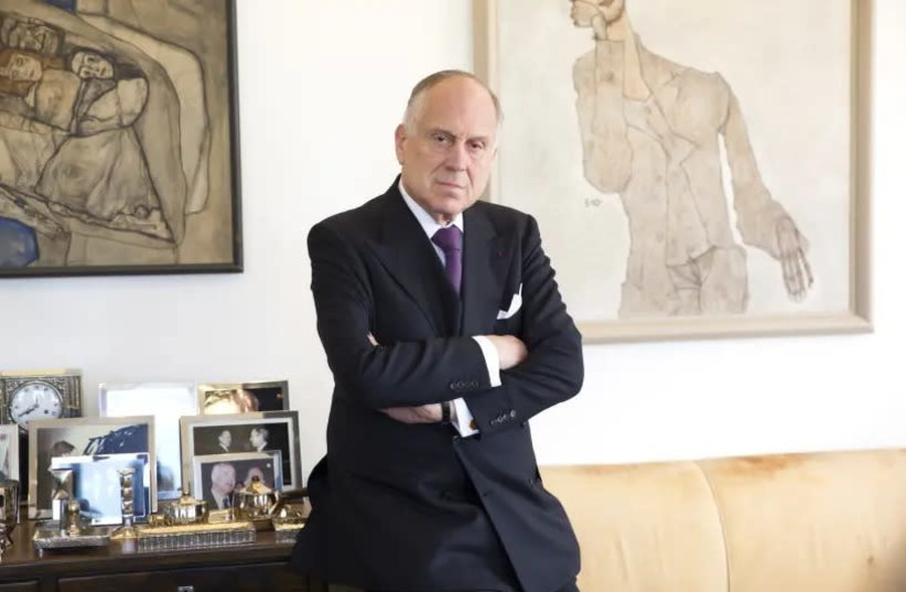 President of the World Jewish Congress Ronald Lauder (photo credit: NOA GRAYEVSKY)
