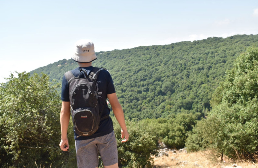 ON THE Israel Trail (photo credit: AMICHAI SUSSMAN)