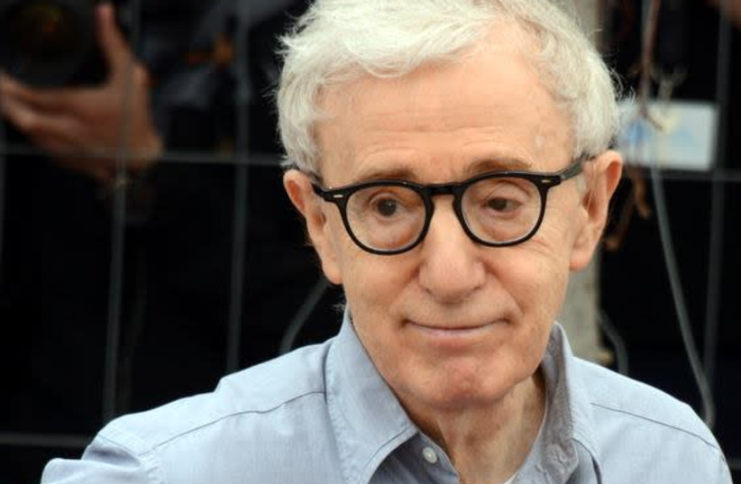 Woody Allen, who was born Allan Stewart Konigsberg in 1935, at the Cannes Film Festival in 2016 (photo credit: WIKIPEDIA)