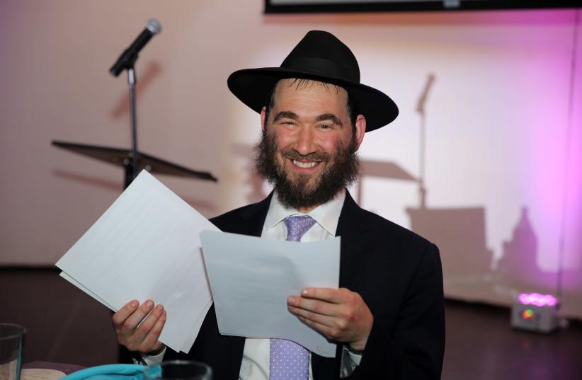 "Rabbi Yehuda ""Yudi"" Dukes, the longtime director of JNet, a worldwide Chabad educational program, has been among the longest hospitalized COVID-19 patients.  (photo credit: ITZIK ROITMAN/MERKOS302/COURTESY OF JNET/JTA)"