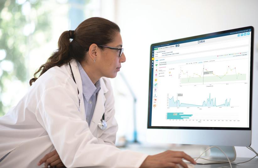 Datos Health. (photo credit: Courtesy)