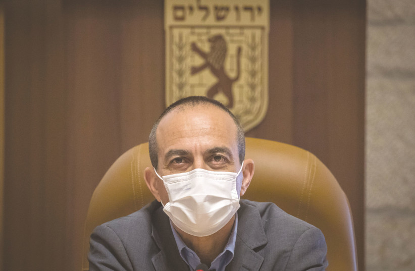 CORONAVIRUS 'CZAR' Prof. Ronni Gamzu is under fire from Israel's politicians. How much longer will he stay on? (photo credit: OLIVIER FITOUSSI/FLASH90)