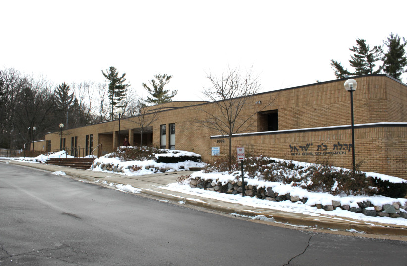 Beth Israel Synagogue, Ann Arbor, Michigan (photo credit: DWIGHT BURDETTE/WIKIMEDIA COMMONS)