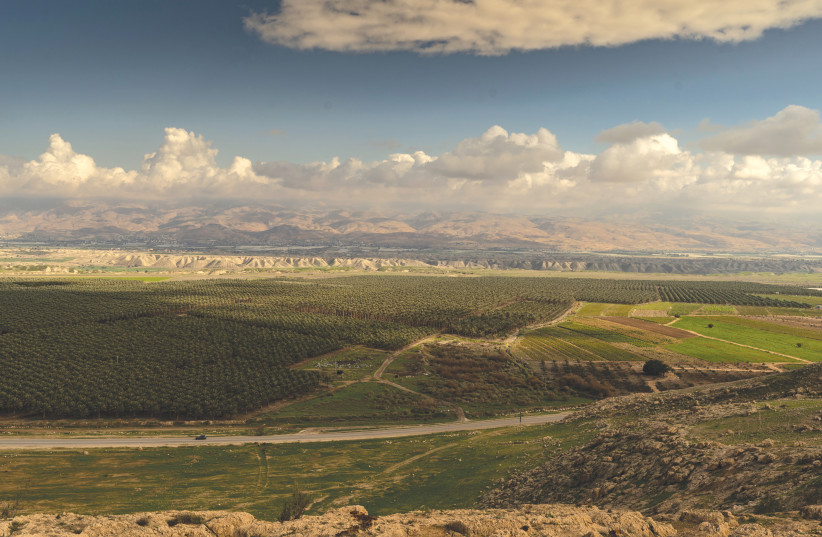 A view of the West Bank (photo credit: YANIV NADAV/FLASH90)