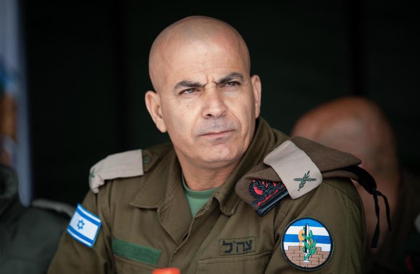 Brigadier General Rhassan Elian (photo credit: COGAT)