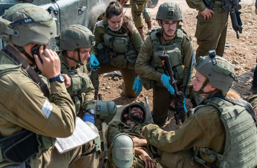 Les troupes de Tsahal participent à un exercice de grande envergure en Cisjordanie (crédit photo: UNITÉ DU PORTE-PAROLE DE L'IDF)