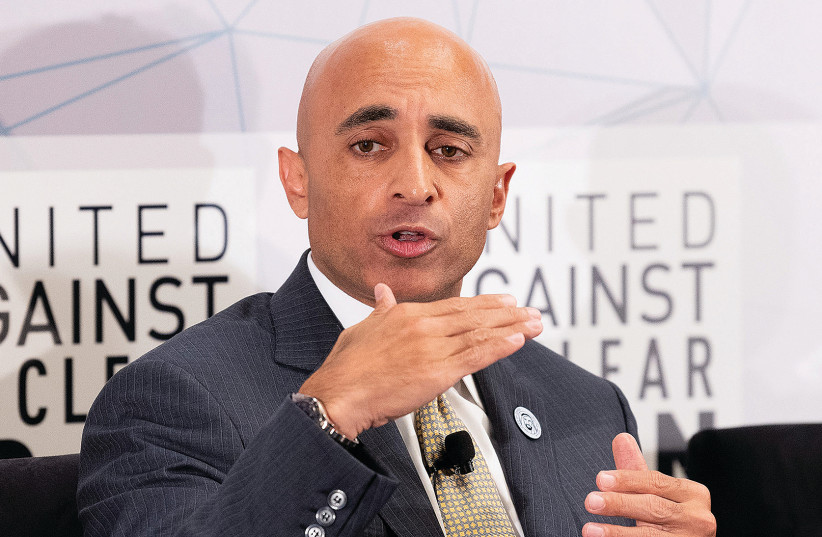 YOUSEF AL OTAIBA, ambassador of the United Arab Emirates to the United States, 'understands Washington, its DNA and its rhythms incredibly well.' (photo credit: MICHAEL BROCHSTEIN/SOPA IMAGES/LIGHTROCKET VIA GETTY IMAGES/JTA)
