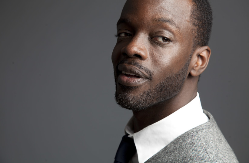 """Ato Essandoh also plays a Black Jew on the NBC drama """"Chicago Med."""" (photo credit: LELUND DUROND THOMPSON PUBLICITY)"""