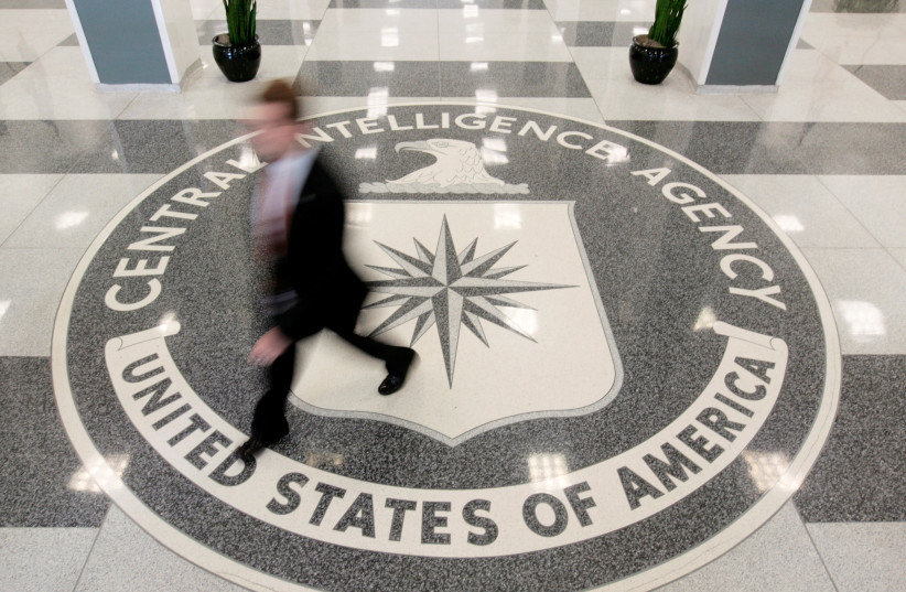 The lobby of the CIA Headquarters Building in Langley, Virginia, US (photo credit: LARRY DOWNING/REUTERS)