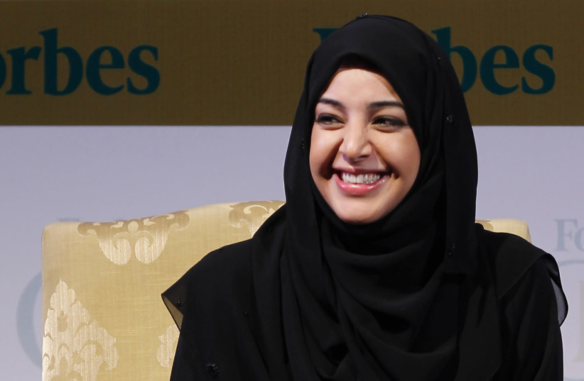 Reem Ibrahim Al Hashimy, Minister of State of the UAE, attends the Forbes Global CEO Conference in Kuala Lumpur September 14, 2011 (photo credit: BAZUKI MUHAMMAD/ REUTERS)