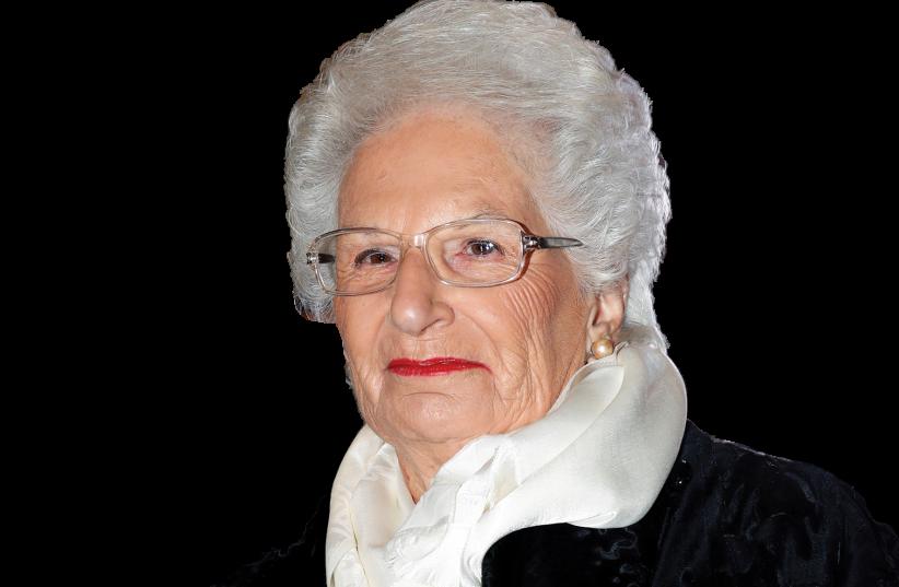 Liliana Segre (photo credit: REUTERS)