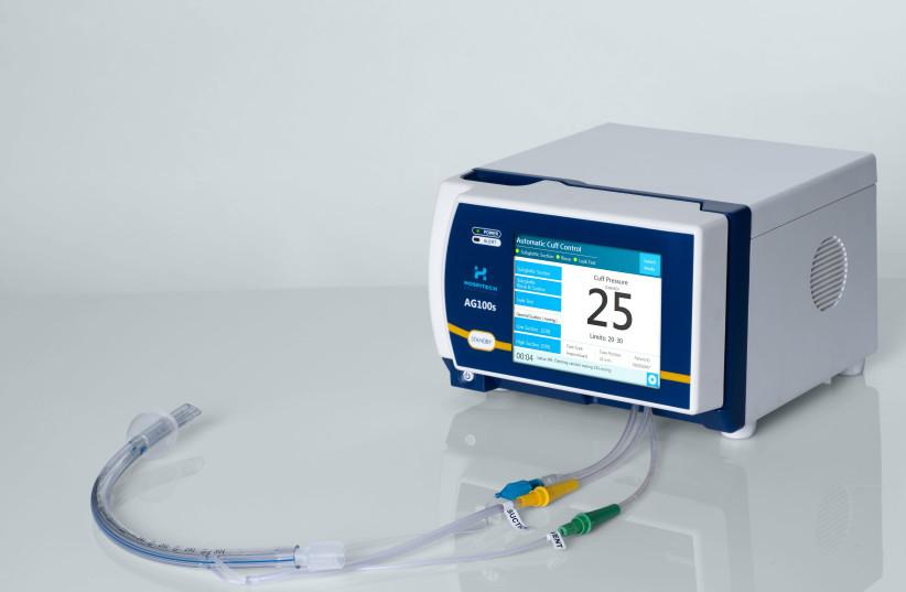 A Hospitech Respiration system (photo credit: Courtesy)