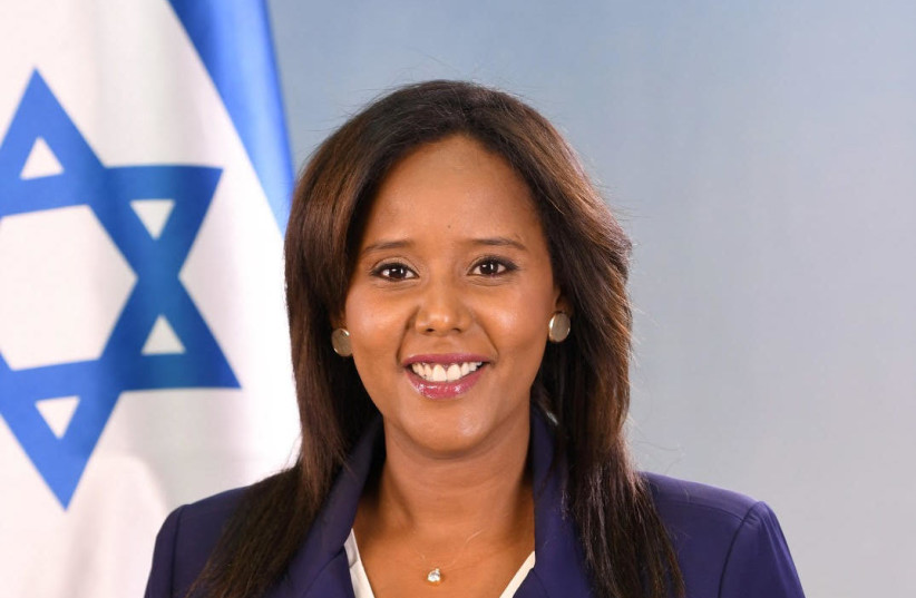Aliyah Minister Pnina Tamano-Shata (photo credit: HAIM TZACH)