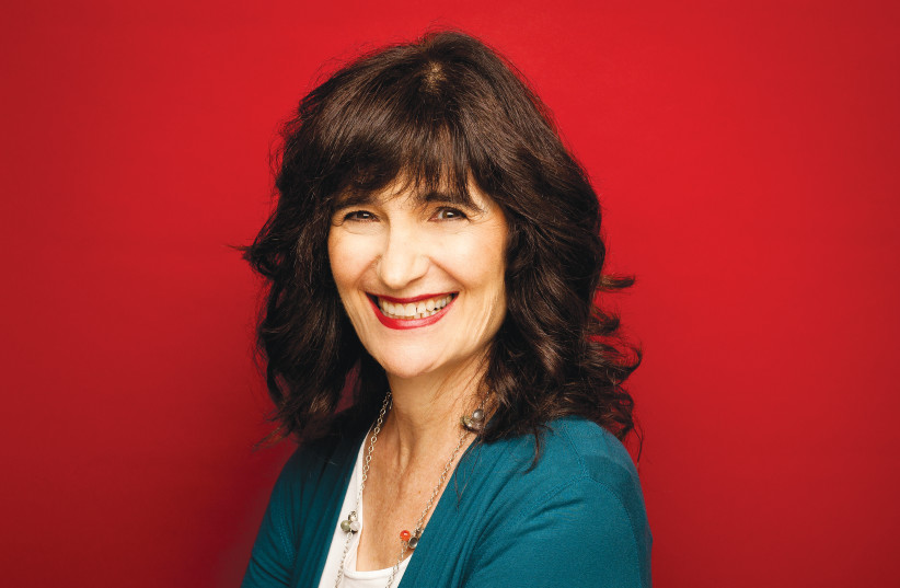 NORA GOLD – the driving force behind the Jewish Fiction.net web site.  (photo credit: CHRIS FRAMPTON)