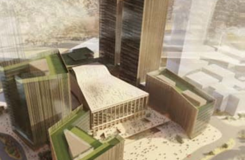 Jerusalem city entrance project will bring thousands of jobs to capital