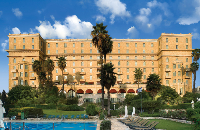 The majestic King David Hotel in Jerusalem (photo credit: Courtesy)