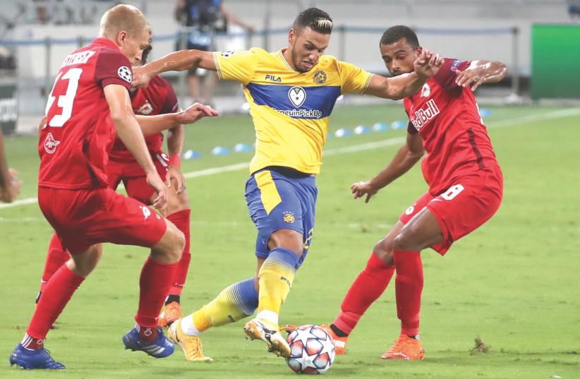 Maccabi Tel Aviv can't hold on vs Salzburg - The Jerusalem Post