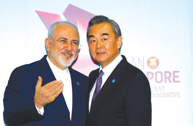 Iran, Saudi Arabia have become China's launchpads in the Mideast