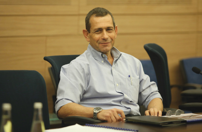 NADAV ARGAMAN: Coming to the end of a successful term. (credit: MARC ISRAEL SELLEM)