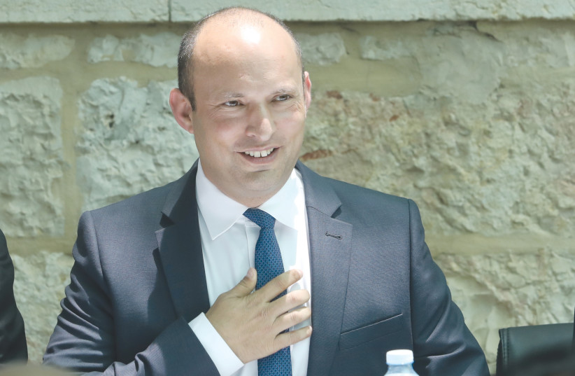 NAFTALI BENNETT – his character holds a truly promising advantage: he doesn't hate.  (photo credit: MARC ISRAEL SELLEM/THE JERUSALEM POST)