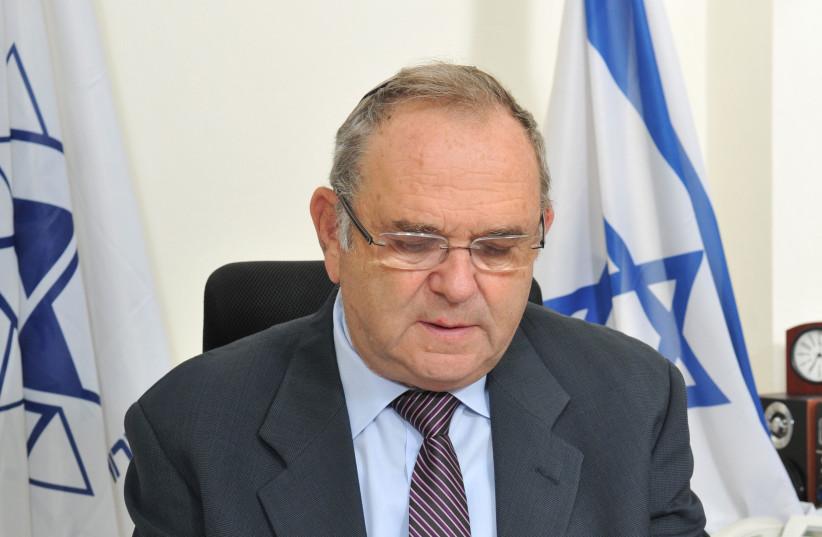 Avraham Duvdevani, Chairman of Keren Kayemeth LeIsrael (photo credit: WORLD ZIONIST ORGANIZATION)