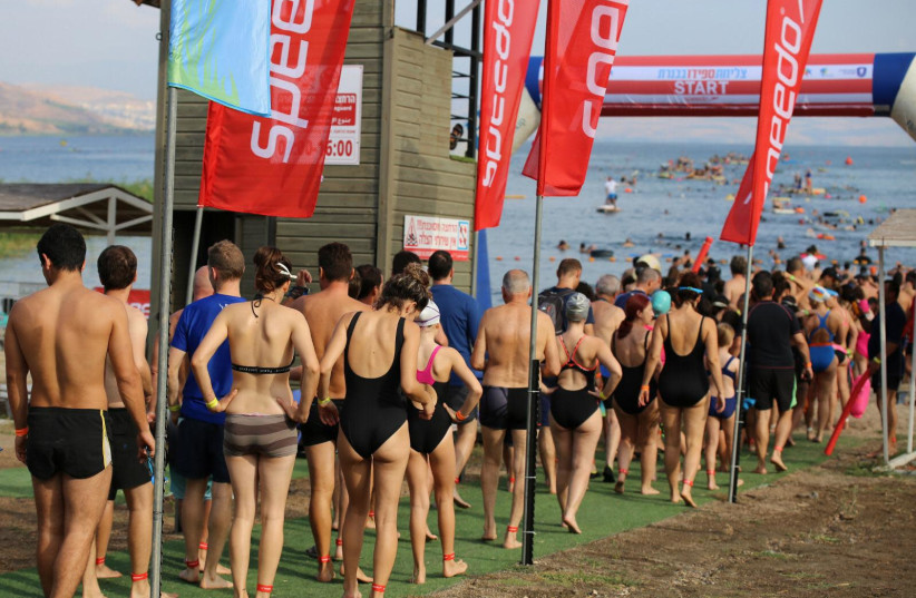 The latest coronavirus culture cancellation: Kinneret Swim