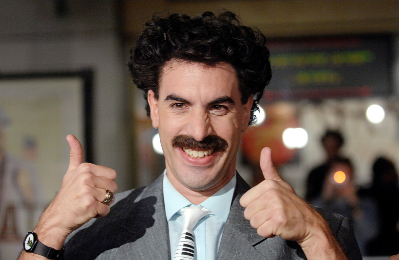 Hebrew-speaking Borat is back, and fits right into today's chaos