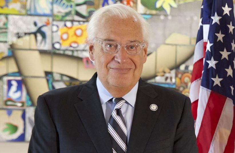 US Ambassador to Israel David Friedman (credit: MATTY STERN / US EMBASSY JERUSALEM)