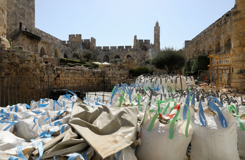 Iconic Tower of David to display new finds in major $40 million renewal