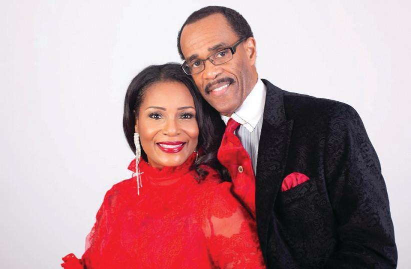 Bishop Glenn Plummer and his wife, Dr. Ruth Pauline Plummer (photo credit: Courtesy)