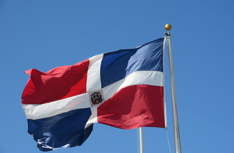 Dominican Republic flag (photo credit: PIXABAY)