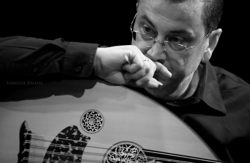 VETERAN OUD player and violinist Prof. Taiseer Elias fronts a tribute to the great divas of Egyptian music (credit: SHMULIK BALMAS)