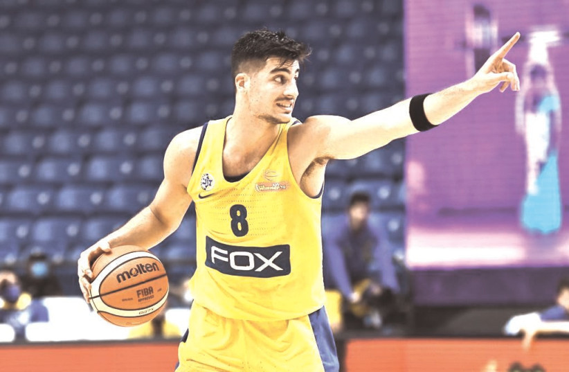 DENI AVDIJA has been projected as a top-10 NBA pick throughout the year, generally in the 4-8 range. More recently, however, there are rumblings that the 19-year-old Israeli will be selected closer toward the 2-5 range in next Wednesday's draft (photo credit: DOV HALICKMAN PHOTOGRAPHY)