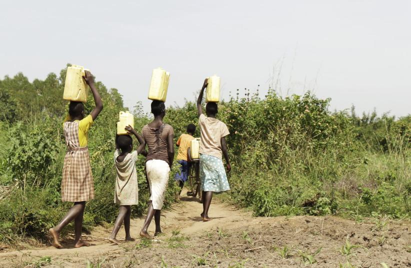 UGANDAN CHILDREN. (photo credit: PIXABAY)