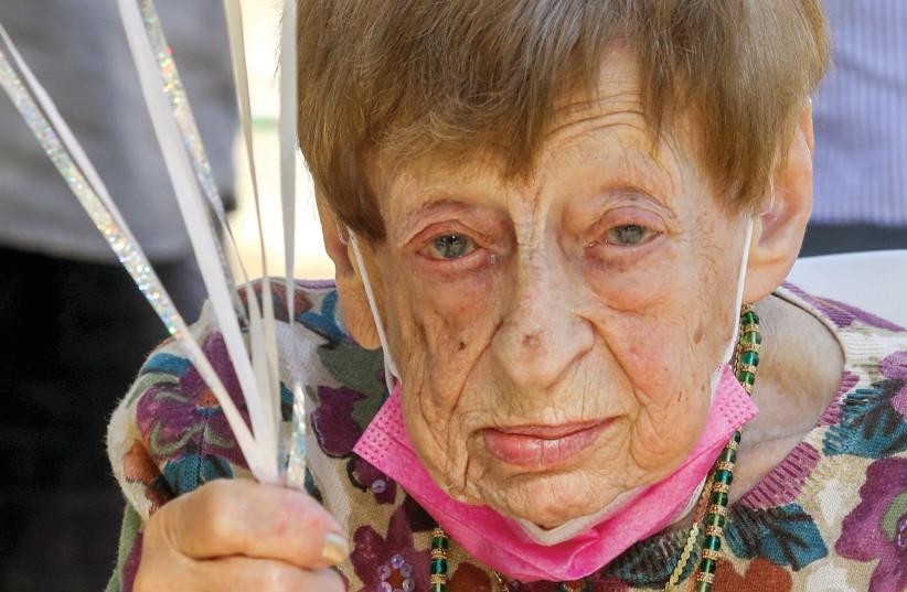 Fania (Fanny) Dunetz Brodsky turned 100 on November 15, 2020 (photo credit: MARC ISRAEL SELLEM)