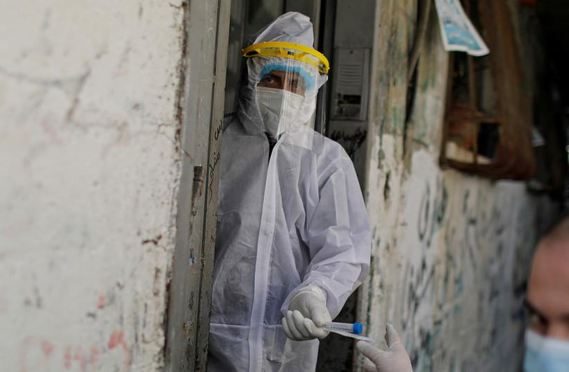 (photo credit: REUTERS/SUHAIB SALEM)