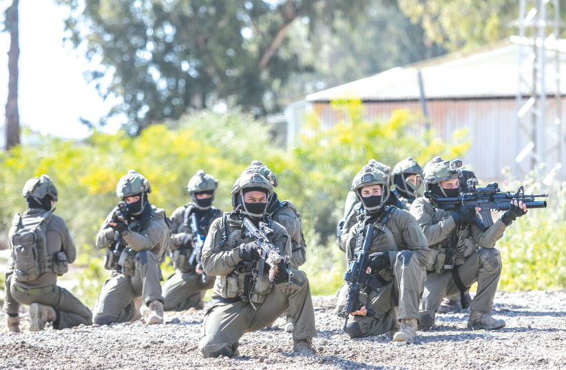 IDF SOLDIERS from the 669 Unit during a training exercise last year. (photo credit: YOSSI ALONI/FLASH90)