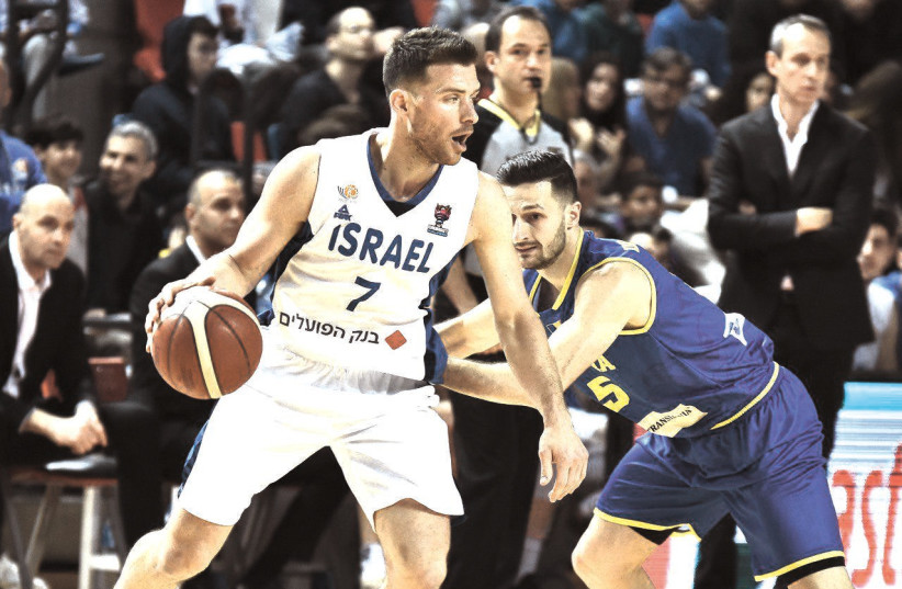 ISRAEL WILL have former NBA player Gal Mekel running the point for its pair of EuroBasket qualifiers against Spain and Portland in Valencia this weekend. (photo credit: DOV HALICKMAN PHOTOGRAPHY)