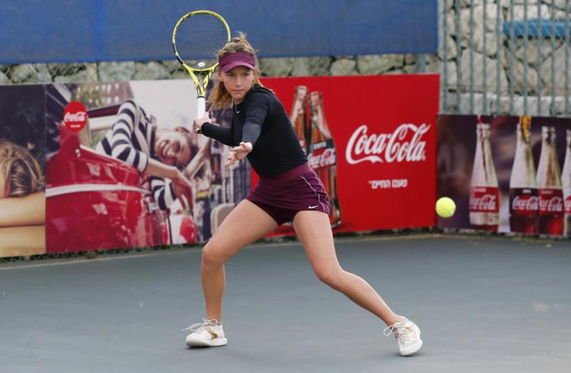 Israeli tennis player Mika Dagan-Fruchtman (photo credit: Courtesy)