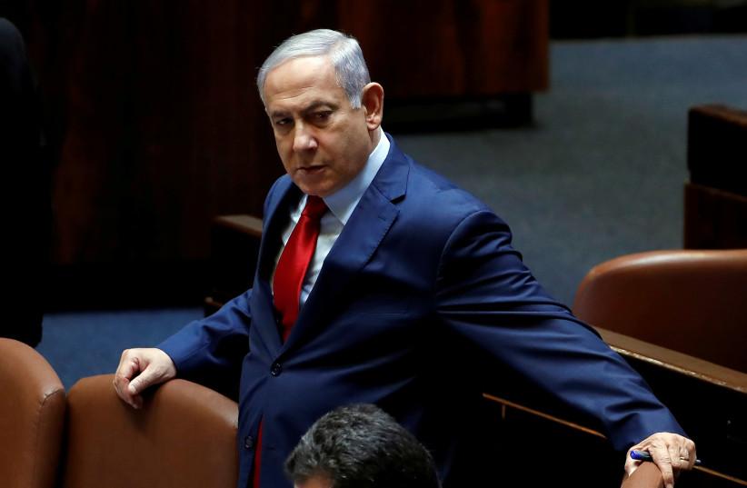 Le Premier ministre Benjamin Netanyahu à la Knesset à Jérusalem (crédit photo: RONEN ZVULUN / REUTERS)