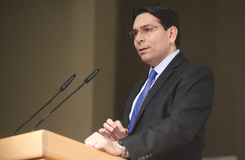 DANNY DANON: We must take the necessary steps toward a strategic and coordinated approach to address global issues. (photo credit: MARC ISRAEL SELLEM/THE JERUSALEM POST)