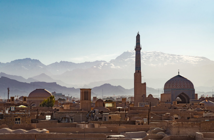 Rooftops of Yazd on a sunny winter day in Iran. (photo credit: GETTY IMAGES)