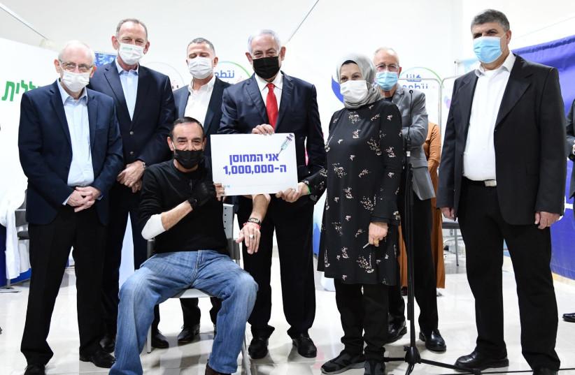 Coronavirus: Israel vaccinates citizen 1,000,000