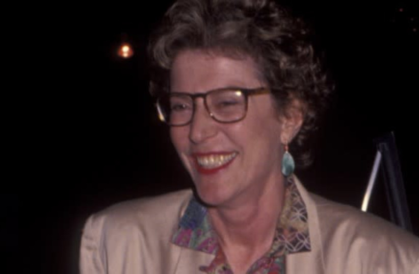 """Joan Micklin Silver at the premiere of the film """"A Private Matter"""" at the Director's Guild Theater in Hollywood, Calif., June 14, 1992. (photo credit: RON GALELLA LTD/RON GALELLA COLLECTION VIA GETTY IMAGES)"""