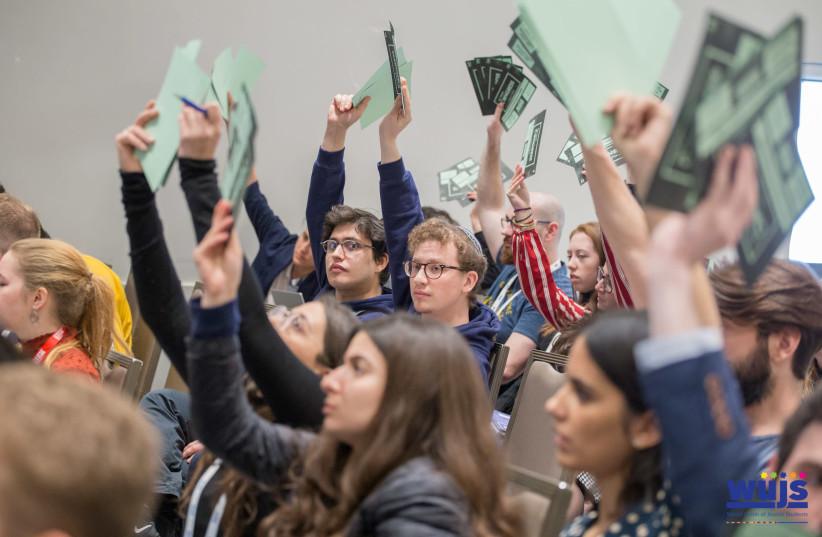 World Union of Jewish Students Congress (photo credit: FRAN FRIEDRICH)