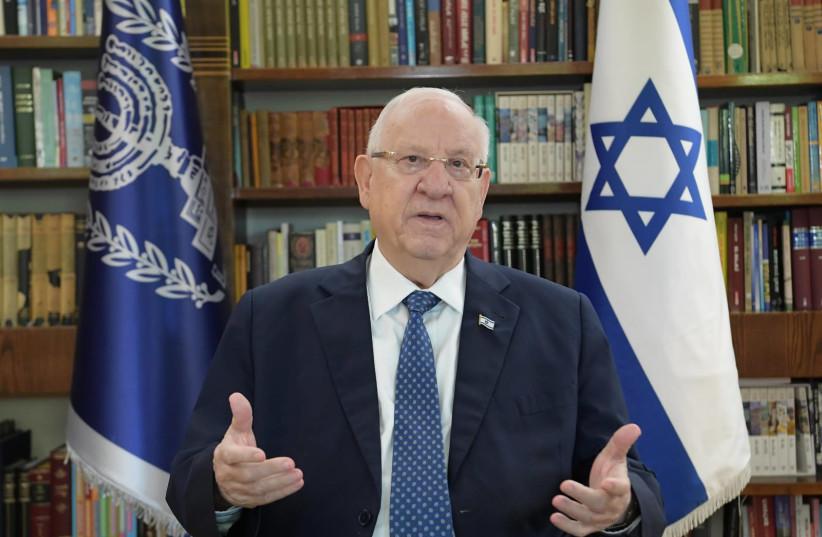 President Reuven Rivlin (photo credit: AMOS BEN-GERSHOM/GPO)