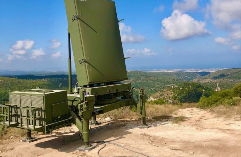MMR Radar, made by IAI subsidiary ELTA. (photo credit: ISRAEL AEROSPACE INDUSTRIES)