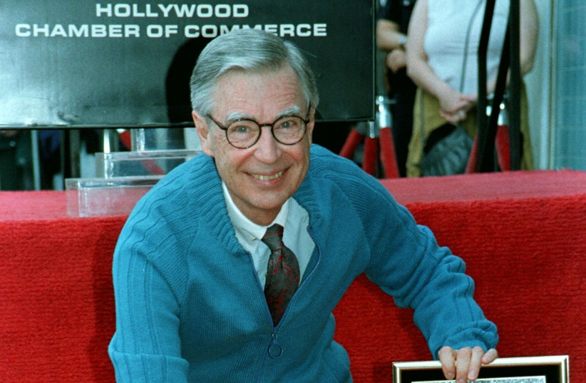 Fred Rogers honored with star (photo credit: REUTERS)