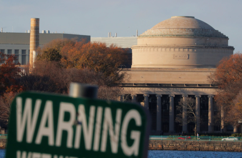 Massachusetts Institute of Technology (MIT) is seen on an embankment of the Charles River in Cambridge, Massachusetts, U.S., November 21, 2018. Picture taken November 21, 2018. To match Exclusive USA-CHINA/STUDENTS REUTERS/Brian Snyder (photo credit: REUTERS)